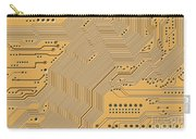 Motherboard - Printed Circuit Carry-all Pouch by Michal Boubin
