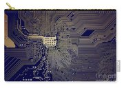 Motherboard Architecture Blue Carry-all Pouch