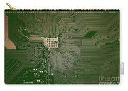 Motherboard Architecture Green Carry-all Pouch