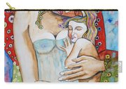 Motherhood - Tribute To Klimt Carry-all Pouch