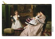 Motherly Love Carry-all Pouch by Gustave Leonard de Jonghe