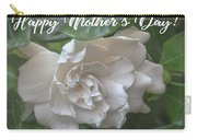 Mother's Day Gardenia Carry-all Pouch