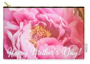 Mother's Day Peony Carry-all Pouch