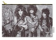 Motley Crue Drawing Carry-all Pouch