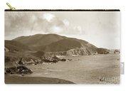 Notleys Landing Big Sur Coast Circa 1933 Carry-all Pouch