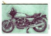 Moto Guzzi Le Mans 3 - Sports Bike - 1976 - Motorcycle Poster - Automotive Art Carry-all Pouch