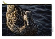 Mottled Duck In Big Spring Park Carry-all Pouch