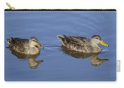 Mottled Ducks, South Padre Island, Texas Carry-all Pouch