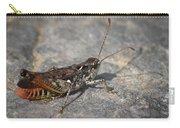 Mottled Grasshopper Carry-all Pouch