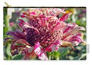 Mottled Pink Cone Flower Carry-all Pouch