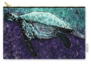 Mottled Sea Turtle  Carry-all Pouch