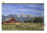 Moulton Barn In The Tetons Carry-all Pouch
