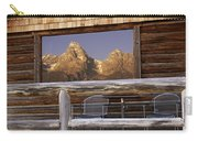 Moulton Ranch Cabin Reflection Grand Tetons Carry-all Pouch