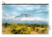 Mount Agung On The Island Paradise Of Bali Carry-all Pouch