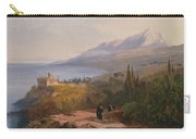 Mount Athos And The Monastery Carry-all Pouch