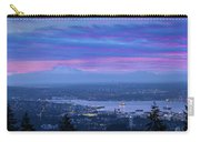 Mount Baker And Vancouver Bc At Dawn Carry-all Pouch