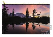 Mount Baker Sunrise Reflection Carry-all Pouch