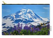 Mount Baker Wildflowers Carry-all Pouch