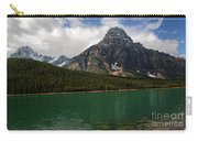 Mount Chephren From Waterfowl Lake - Banff National Park Carry-all Pouch