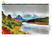 Mount Errigal, Donegal, Ireland, Poster Effect 1a Carry-all Pouch