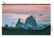 Mount Fitz Roy At Dusk Carry-all Pouch