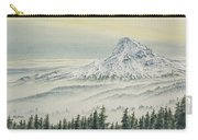 Mount Hood Evening Carry-all Pouch