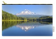 Mount Hood On A Sunny Day Carry-all Pouch