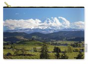 Mount Hood Over Fruit Orchards In Hood River Carry-all Pouch