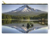 Mount Hood Reflection On Trillium Lake Carry-all Pouch