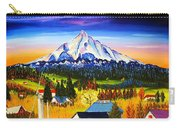 Mount Hood River Valley #1. Carry-all Pouch