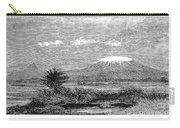 Mount Kilimanjaro, 1884 Carry-all Pouch
