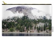 Mount Lassen Volcano In The Clouds Carry-all Pouch