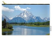 Mount Moran At Oxbow Bend Carry-all Pouch