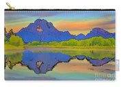 Mount Moran Cartoon Carry-all Pouch