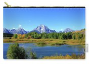 Mount Moran, Grand Tetons National Park, Wyoming  Carry-all Pouch