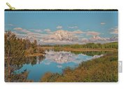 Mount Moran On Oxbow Bend Carry-all Pouch by Brian Harig