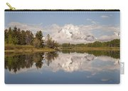 Mount Moran On Oxbow Bend Panorama Carry-all Pouch