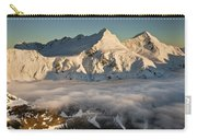 Mount Pollux And Mount Castor At Dawn Carry-all Pouch