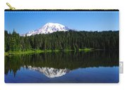 Mount Rainer Reflecting Into Reflection Lake Carry-all Pouch