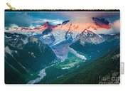 Mount Rainier And White River Carry-all Pouch