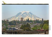Mount Rainier At Tacoma Waterfront Carry-all Pouch