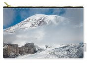 Mount Rainier Behind Clouds 3 Carry-all Pouch