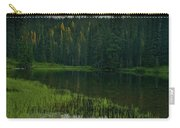 Mount Rainier Dawn Reflection Carry-all Pouch