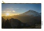 Mount Rainier Dusk Fallen Carry-all Pouch