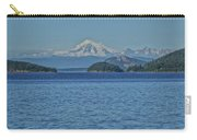 Mount Rainier From San Juan Channel Carry-all Pouch