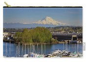 Mount Rainier From Thea Foss Waterway In Tacoma Carry-all Pouch