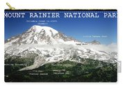 Mount Rainier South Side Carry-all Pouch