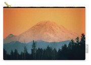Mount Rainier, Sunset Carry-all Pouch