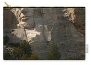 Mount Rushmoore Detail - Abraham Lincoln  Carry-all Pouch