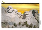 Mount Rushmore 11 Digital Art Carry-all Pouch